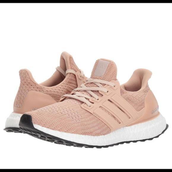 672ba863c4 Adidas UltraBoost Running Shoe Ash Pearl (blush)